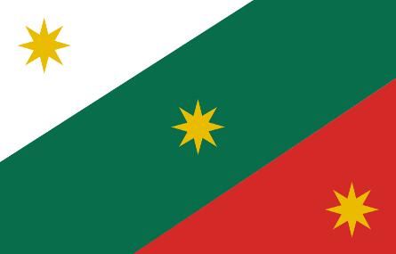 bandera del las tres garantias