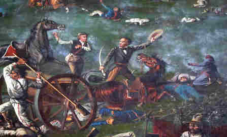 sam houston en la batalla de san jacinto