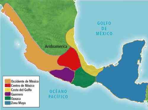 areas culturales mesoamericanas
