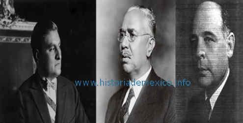 presidentes durante el maximato