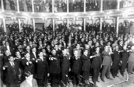 jura constitucion de 1917